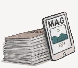 Livraison du magazine