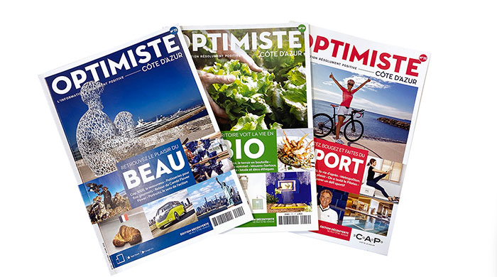 Optimiste Magazine Côte d'Azur