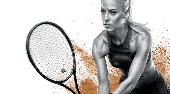 réalisations pour un tournoi de tennis